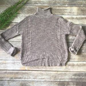 Express Wool Blend Soft & Cozy Turtleneck Sweater